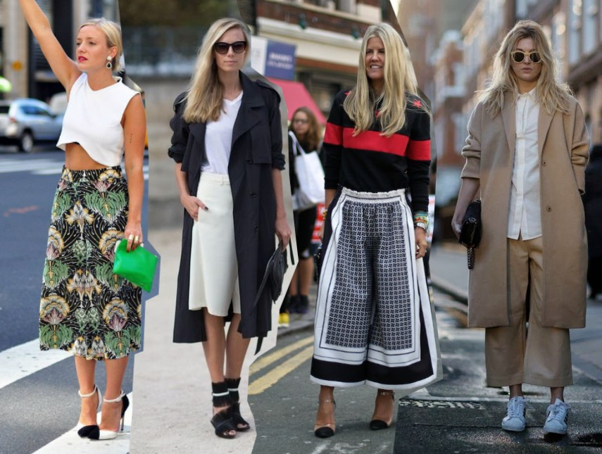 Streetstyle culottes